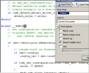 Compiling OpenOCD for Windows 7 (LibFTDI) – Pre June 2011